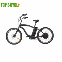 Classic pedelec big power beach cruiser electric 48V electric beach cruiser bicycle for sale
