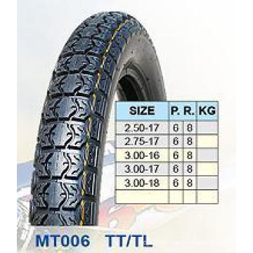 Motorcycle Tires 2.50-17 2.75-17 3.00-16 3.00-17 3.00-18