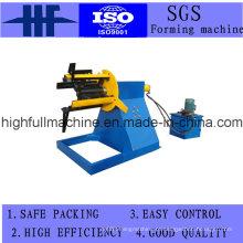 Roll formando máquina com 5 toneladas Decoiler
