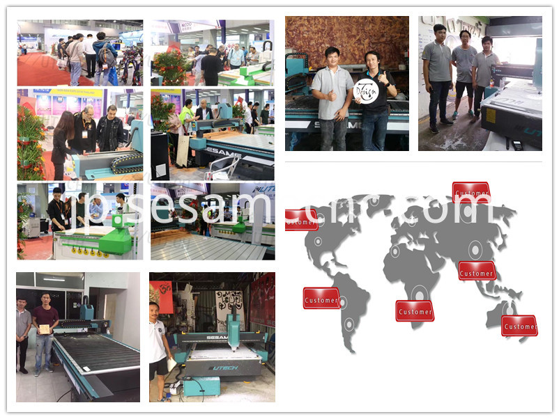 Advertising for cnc router