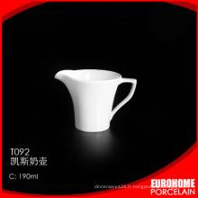 EuroHome royal élégant design moderne en céramique porcelaine vache lait crémier