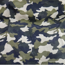 Tissu en tissu de chiffon en camouflage en tissu polyester
