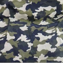 Tecido de poliéster camuflagem tecido de chiffon