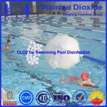 Mejor Agua Química Piscina Dióxido de Cloro para el Tratamiento de Agua de la Piscina