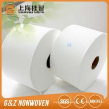 Tissu non tissé 65% polyester 35% rayonne