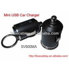 Carregador do carro do mini usb 5V600MA 34mm
