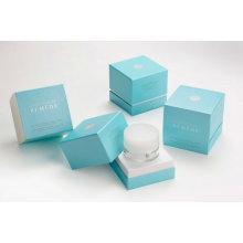 Caja cosmética / Caja de maquillaje de cajón / Caja cosmética de ventana de caja de papel / PVC