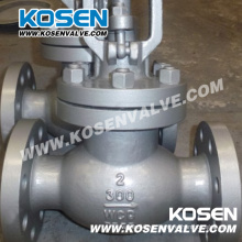 API 600 & 602 Kosen Válvula de globo de acero forjado y fundido