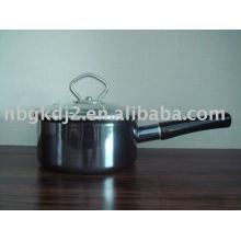 Porzellan Emaille Kochgeschirr Set mit Spiegel Gesicht