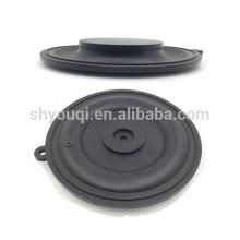 Diafragma moldeado caucho modificado para requisitos particulares, diafragma reforzado tela de la goma de silicona, diafragma de la bomba