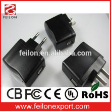 High Quality ac dc USB Power Adapter 2.5W(4.2V,500mA)
