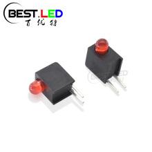 Indicateur de circuit imprimé à LED diffuse rouge de 3 mm