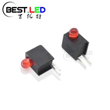 3-миллиметровый красный рассеянный светодиодный индикатор печатной платы