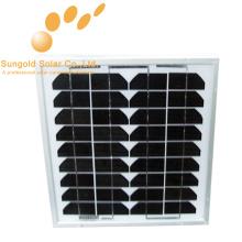 Mono-Sonnenkollektor 10 Watt