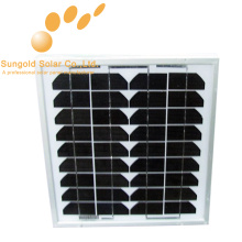 Mono панель солнечных батарей 10 ватт
