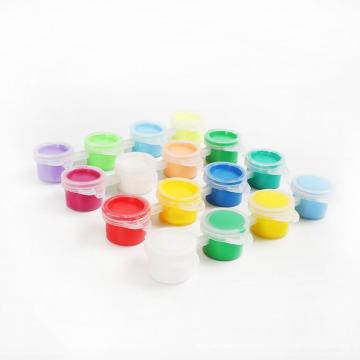 six-color water paints