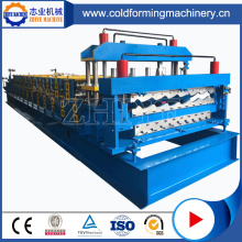 780 Glazed Tile Steel Roofing Roll Forming Machine