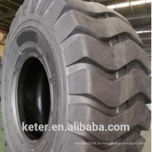 Padrão chinês do pneu 17.5-25 E3 / L3 do polarização OTR Tipo ECOLAND para o mercado do leste do UE