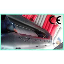 China grande barco inflável do PVC 8m para venda com piso de alumínio