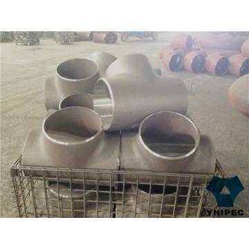 Tee de raccords de tuyauterie en acier inoxydable Sms Bw