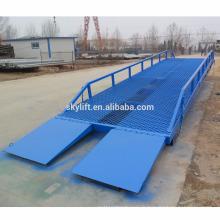 Rampes mobiles de rampe de Dock de rampe mobile / rampes de déchargement de camion
