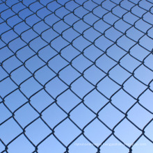 complete pvc coated chain link fence post wire mesh