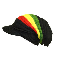 Мода зимняя теплая леди Акриловые трикотажные шапочка черепа Hat / Cap
