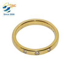 Mode-Frauen-neue Ankunfts-unterschiedliche Art-preiswerter Großverkauf-Edelstahl-Ring
