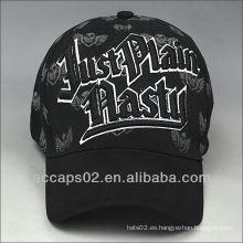 Sombrero de béisbol de la vendimia con la impresión