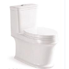 White Toilet Tornado Flushing One Piece Toilet