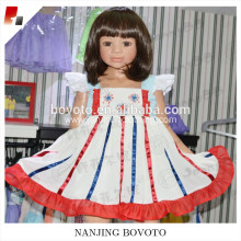 2017 new design fireworks embroidery dress