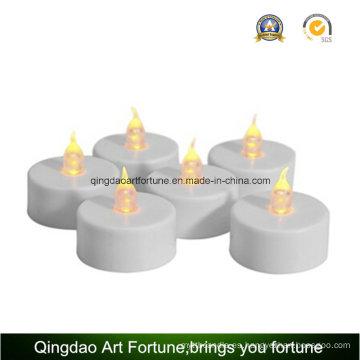 Sin humo LED velas de Tealight para la boda / partido blanco cálido