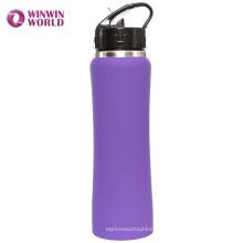 Atacado BPA Livre 16 oz Esportes Garrafa De Água Isolada De Aço Inoxidável Com Caneta Flip