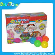 Interesting 6 cm HDPE ocean ball toy ball