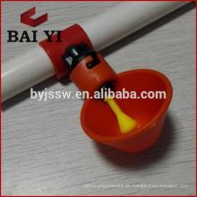 Nuevo diseño Bebedor de pezones de aves de corral (Red Water Bowl)