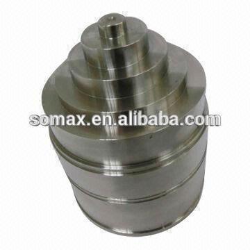 Alta precisión CNC trabajado a máquina, partes del torno maquinaria central, encargo hecho CNC mecanizado de piezas