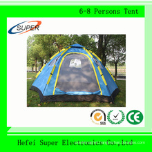 6 Persons 2 Layer Outdoor Tent with Fiberglass Pole