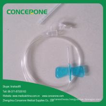 Disposable Medical Butterfly Needle for Infusion Set 23G