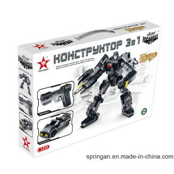 "Robotech Series Designer 3 in 1 ""Steel Scout"" Blocks Toys"