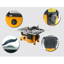 "100mm 4 ""90W Electric Artes y Oficios Mini Bench Saw"