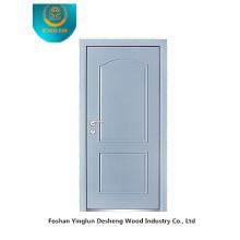 Puerta blindada de seguridad con azul en polvo