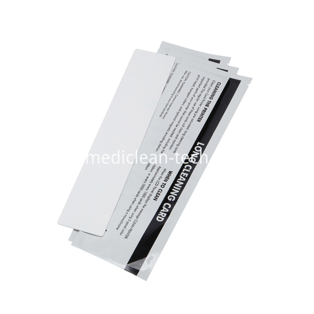 Fargo Long I Cleaning Cards 293mm for HDP5000 Printer