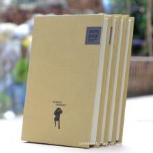 Personnalisé Custom Kraft Hardcover Paper Notebook