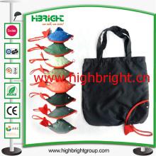 Polyester-Gewebe-faltbare Hand tragen Taschen-Tasche