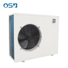 DC Inverter air to water heat pump chiller