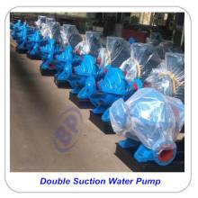Bomba de circulación de agua caliente de doble succión horizontal