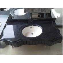 Black Galaxy Granite Bath Vanity Top