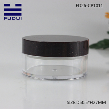 Wholesale classic empty compact powder case with sifter