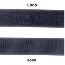 Polyester Tape Hook Adhesive Backing Velcro White