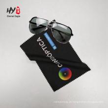 limpeza de óculos impressos barato pano de microfibra